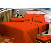 New Bedcover Vallery Quincy Red 180X200 Tinggi 30Cm / Spf 911