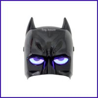 Topeng Captain Batman Nyala Lampu LED Unik Super Hero / Heroes Batman