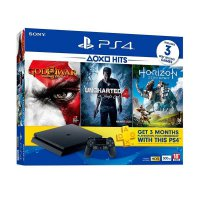 SONY PlayStation 4 Slim CUH-2106A Hits Bundle Game Console - Jet Black [500 GB]