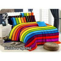 New Bedcover Set Fata King Size Rainbow Spring / Spf 976