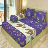 Sprei Lady Rose Disperse 180 Indigo