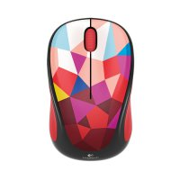 Logitech Wireless Mouse M238 Red Facet