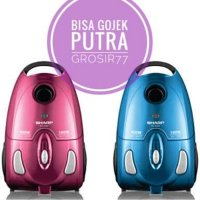 SHARP VACCUM CLEANER EC-8305 PINK/BLUE LOW WATT EC 8305