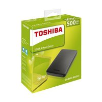 Hardisk eksternal Toshiba Canvio Basic 500GB