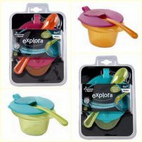 tommee tippee cool and mash weaning bowl/tempat makan bayi/