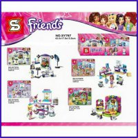 4 in 1 LEGO BLOCK PRINCESS FRIENDS SY767 - KADO MAINAN ANAK EDUKASI