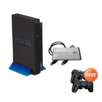 SONY PlayStation 2 Fat Game Console [60 GB/Refubished/Full Game] + Free 2 Stick