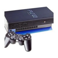 Sony Playstation 2 NA Game Console [80 GB/Full Game] + 2 Stick Wireless
