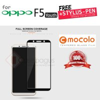 Oppo F5 Youth - Mocolo Full Cover Premium Tempered Glass