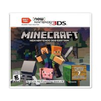 Nintendo Minecraft for New Nintendo 3DS Edition DVD Game