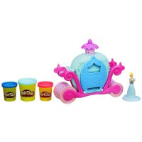 PDH117 Play Doh Disney Princess Cinderella Magical Carriage Original Item