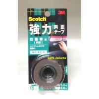 3M Scotch Super Strong Double Sided Tape For Automotive , KCA-15
