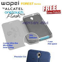 Flipcover ALCATEL OneTouch Flash-PLUS : WOPEI Forest (