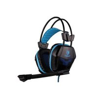 Sades X-POWER SA-706 Biru Headset Gaming with Microphone - Biru