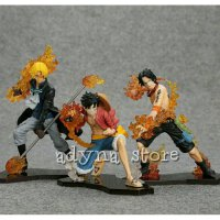 Action Figure One Piece Attack Styling 3pcs/set