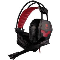 Sades X-POWER SA-706 Headset Gaming with Microphone - Merah/Biru