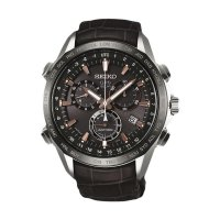 Seiko SSE023J1 Original Jam Tangan Pria - Dark Brown