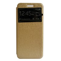 My User Flip Cover Lenovo Vibe A / A1000 - Gold