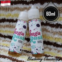 Sugar Rush 60ml Eliquid Vape - Blueberry Cheesecake (Premium Liquid)