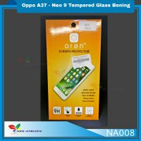 NA008 Oppo A37 - Neo 9 Tempered Glass Bening - TG Bening - Clear