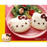 Cetakan Roti Bento Hello Kitty Bread Sandwich Mould