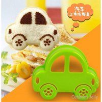 Cetakan Roti Bento Car Bread Sandwich Mould
