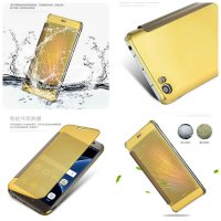 FLIP COVER MIRROR XIAOMI MI5 MI 5 LUXURY MIRROR CLEAR VIEW FLIP WALLET