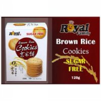 Royal Family Brown Rice Cookies