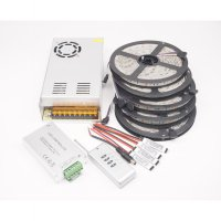 Referensi Fullset 25meter 12V RGB 5050 Lampu Selang LED Strip + Remote + Adaptor