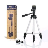Tripod Stainless Weifeng WT3110A Extandable For Smartphone Dan Camera