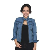 Jaket Denim Wanita Couple Catenzo BE 053