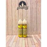 E LIQUID VAPOR VAPE - BANANA BREAD PUDDING BIG BANANA'S 3mg / 60ml