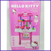 KITCHEN SET HELLO KITTY - KADO MAINAN ANAK MASAK MASAKAN