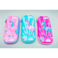 TEMPAT PENSIL SELETING EVAMATE SMIGGLE KUDA PONY UNICORN 5654