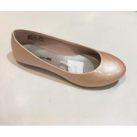 CHARLIE GLOSSY SERIES AMERICAN EAGLE FLAT SHOES
