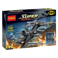 Lego Pesawat Batman Fighter Batwing Tumbler Decool 7112