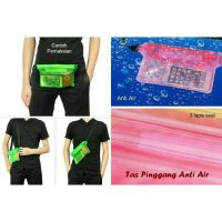 Tas HP Anti Air Tas Pinggang Waterporoof Waist Bag