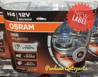 Lampu Mobil OSRAM Night Breaker / Nightbreaker (NBR) Unlimited NBU H4