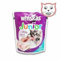 Wet Food Makanan Kucing Basah Whiskas Junior