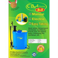Sale CBA Electric Sprayer knapsack tipe 5.5 elektrik + manual 16L 3in1 Termurah