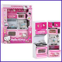 MODERN KITCHEN SET HELLO KITTY MAINAN MASAK MASAKAN KOMPOR
