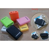 Delcell Powerbank Pillow 6150mAh - Dual Output