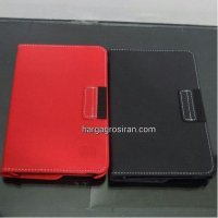 Sarung Rotary Samsung Tab 2 7.0 P3100 - Leather Case Bisa Standing