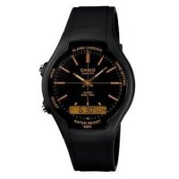 JAM TANGAN CASIO DOUBLETIME AW-90 H SERIES - ANALOG & DIGITAL ORIGINAL WATCH