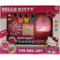 Mainan Anak Perempuan - The Nail Art Hello Kitty Beauty Set Kuku