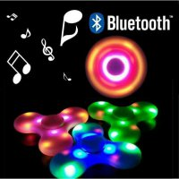Referensi Speaker Aktif fidget spinner led music speaker musik spiner lampu on off