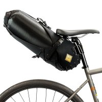 Tas Touring Anti Air Restrap Saddle Bag + Dry Bag Made in UK Black L