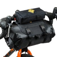 Tas Touring Anti Air Restrap Bar Bag Holster + Dry Bag (14 Litres)