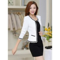 [Sale] Jfashion New Women Blazer With Lace Long SLeeve - Eve