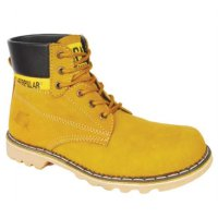 CASSICO CA 372 Sepatu Safety Boots Pria - Leather - Rubber Outsole - Keren - Tan